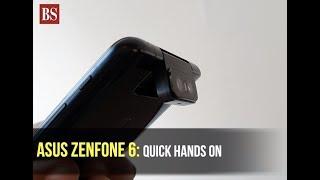 Asus Zenfone 6 motorised flip camera hands-on, key specs, and more