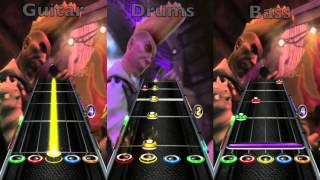 Guitar Hero 5: Gorillaz - Feel Good Inc. (Guitar/Drums/Bass) Expert + Hard