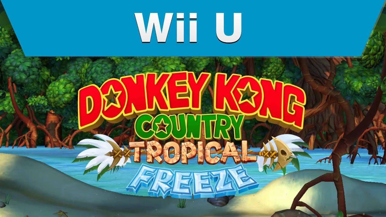 Wii U - Donkey Kong Country: Tropical Freeze E3 Trailer