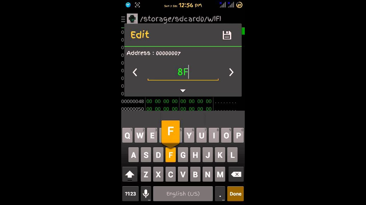 Changing Mac Address For Android