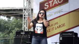 Aastha raut on stage ( Salko pata ..)