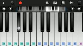 Petta - Singaar Singh Theme   Villain BGM   Easy piano tutorial   Anirudh