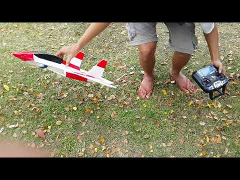 Pesawat RC Gabus Jet Part 1