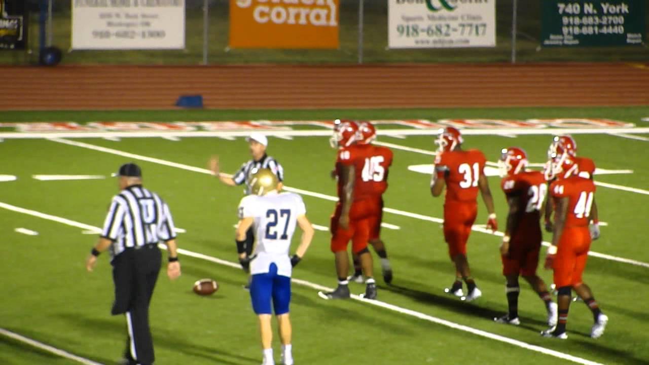 Bacone Football vs. Tabor College 3 - YouTube