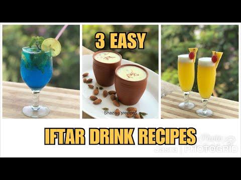 3 easy iftar drinks recipes