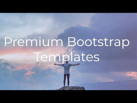 Premium Bootstrap Templates - Free HTML Website Templates