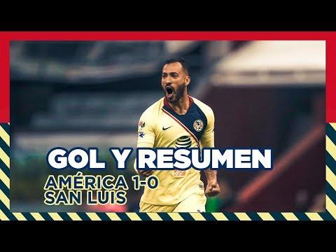 Club América 1-0 Atlético San Luis   RESUMEN   CL2019   CopaMX