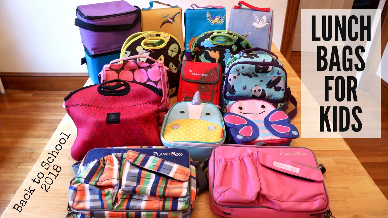 Lunch Bags For Kids Back To School 2018 Sarahmakeslunch