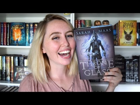 THRONE OF GLASS BY SARAH J MAAS BOOKTALK