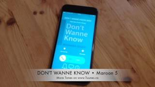 Don't Wanna Know Ringtone (Maroon 5 Tribute Marimba Remix Ringtone) • iPhone and Android Download