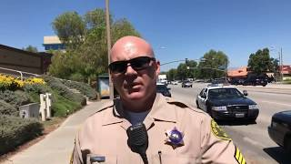 Furry Potato *ARRESTED* for filming Marine Recruiting Office Valencia CA TYRANT ALERT