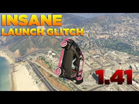 GTA 5 1.42 BEST CAR LAUNCH GLITCH!! (Best...