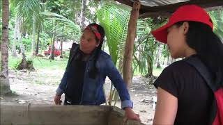 BEAUTIFUL MAY AND GWEN VISIT OUR WELL PROJECT IN THE UNFAITHFUL HUSBAND COMMUNITY