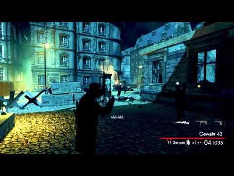 "Sniper Elite: Nazi Army Zombie Ep 3 w/ Willcaddy ""What's the bet that gate opens"""