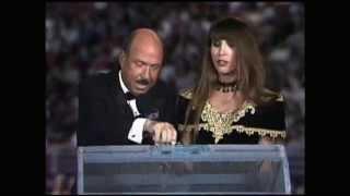 Mean Gene Okerlund being a perve at WCW Battlebowl 1993