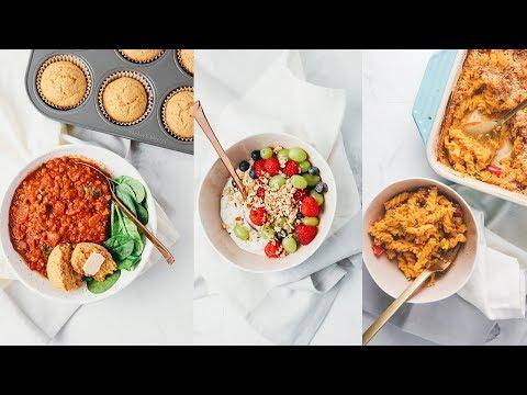 A Day of Balanced Vegan Meals + Healthy Recipes
