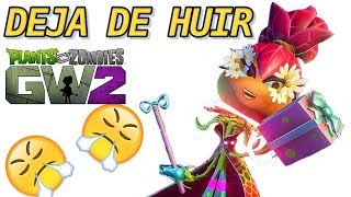 Pero DEJA de HUIR - Plants vs Zombies Garden Warfare 2