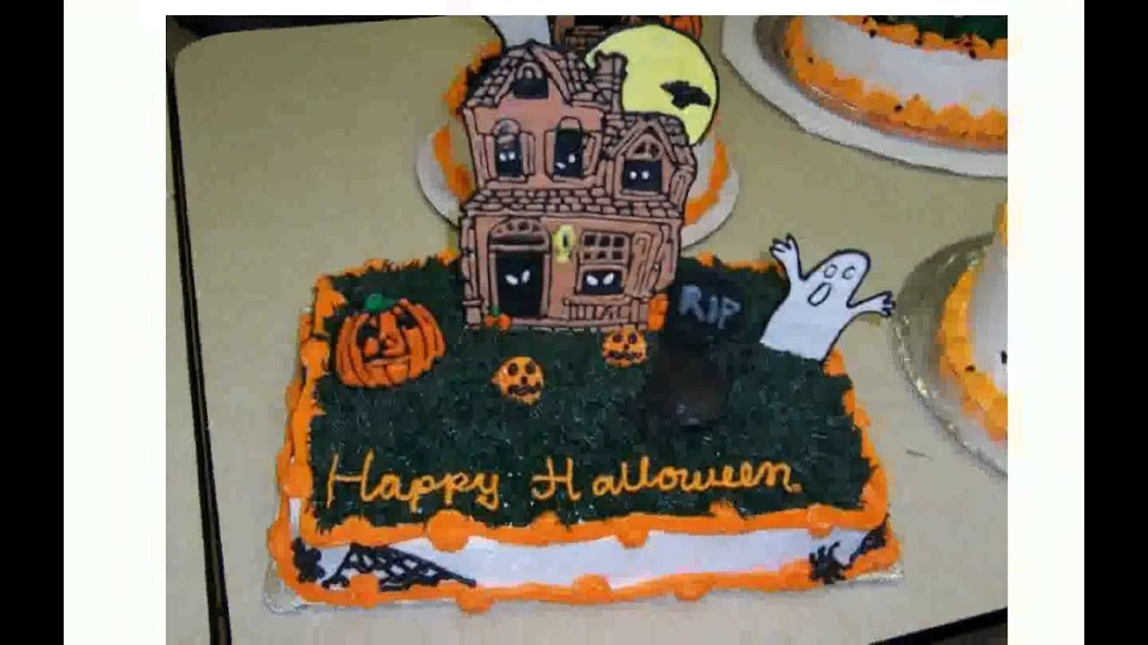 halloween cake decorating ideas youtube - Halloween Decorated Cakes