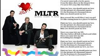 Paint My Love MLTR Karaoke