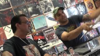 Dez Cadena at Clock-Work Records 9/19/2015