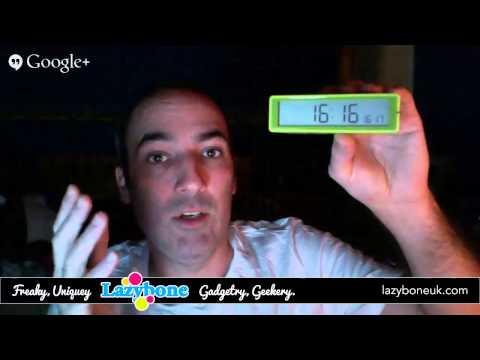 Lexon LR 130 Flip Digital Alarm Clock - Review