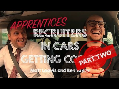 Apprentices In Cars Getting Coffee PART TWO | Matt & Ben | #NAW2020