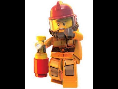 Lego City Bombero Juguete Para Nios  YouTube
