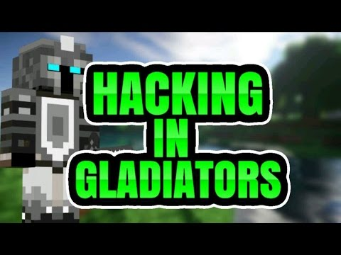 HACKING IN MCPE GLADIATORS