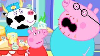Peppa Pig Français 🧀 Peppa Aime Le Fromage Qui Pue | Compilation Spéciale | Dessin Animé Pour Bébé