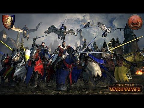 Bretonnia vs. Greenskins Ranked Battle - Total War Warhammer Multiplayer