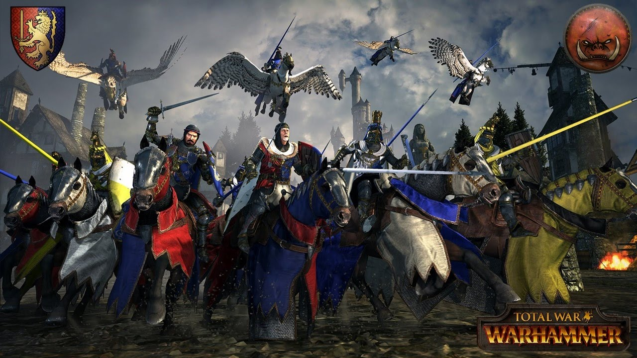 Bretonnia Vs Greenskins Ranked Battle Total War Warhammer