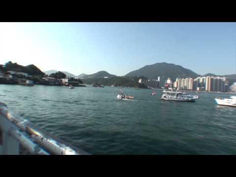 I love hong kong Series - Cross-Harbour Swimming Marathon October 2013