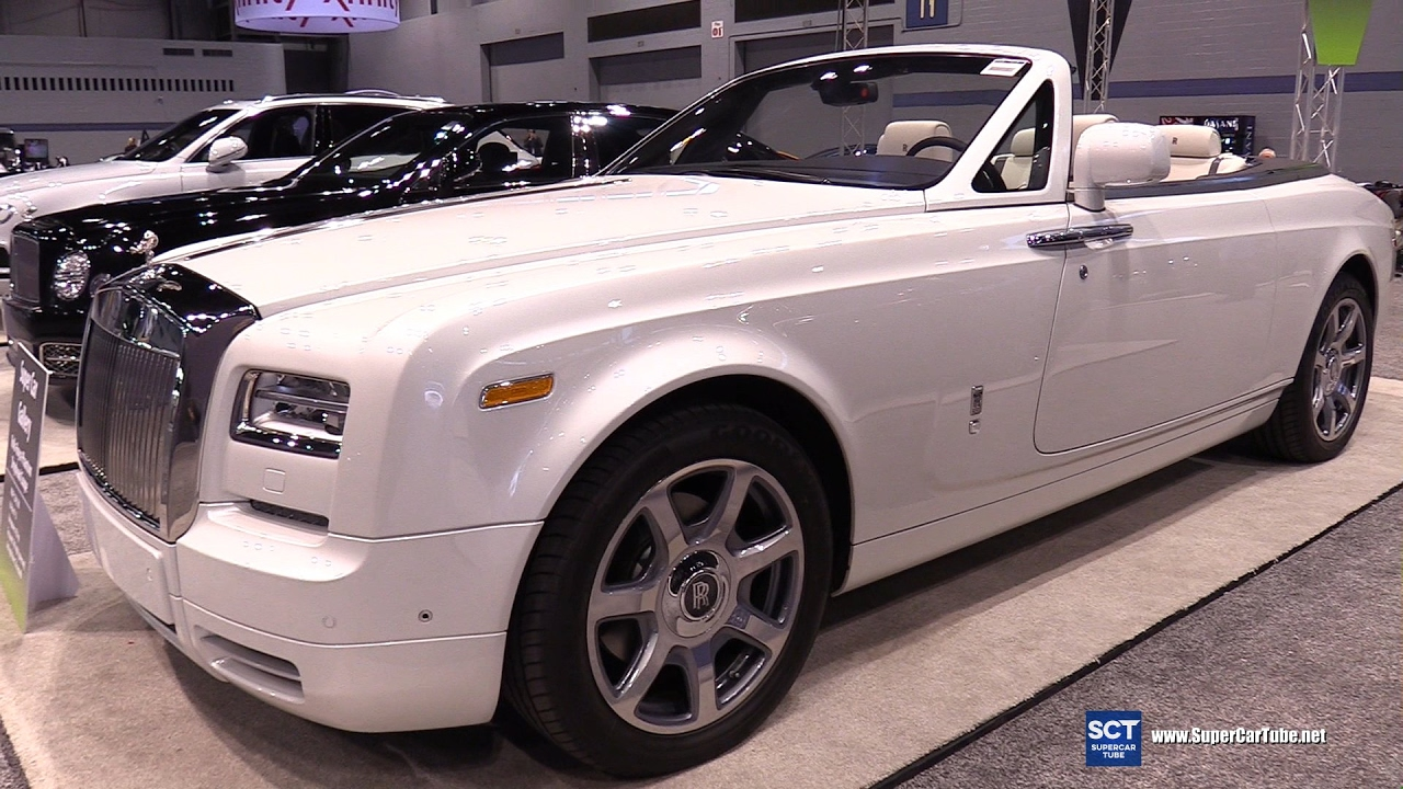2017 Rolls Royce Phantom Drophead Coupé Exterior Interior Walkaround Chicago Auto Show