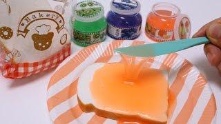 Bread Squishy & Jam Slime
