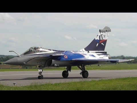 Insane French Air Force Rafale at Cambridge Airport