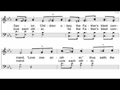 Angry Words - A Cappella Hymn