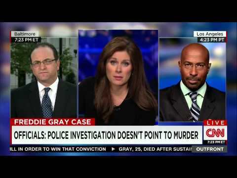 OutFront - Freddie Gray Case: Police investigation doesn't point to murder