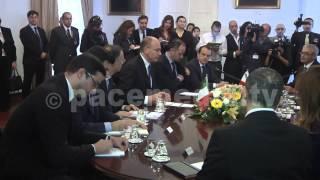 Italian Prime Minister Meets Maltese Prime Minister