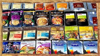 Best Dehydrated Meals/Snacks/Jerky F๐r Backpacking, Camping, Hiking & Kayaking