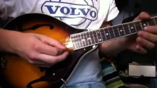 Led Zeppelin - Boogie With Stu Mandolin Solo Cover
