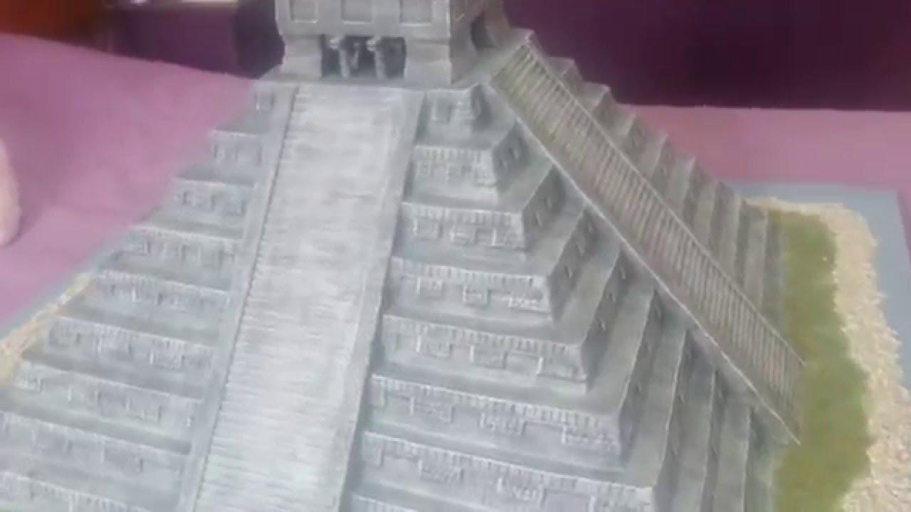 Cómo hacer El Templo de Kukulkan - YouTube