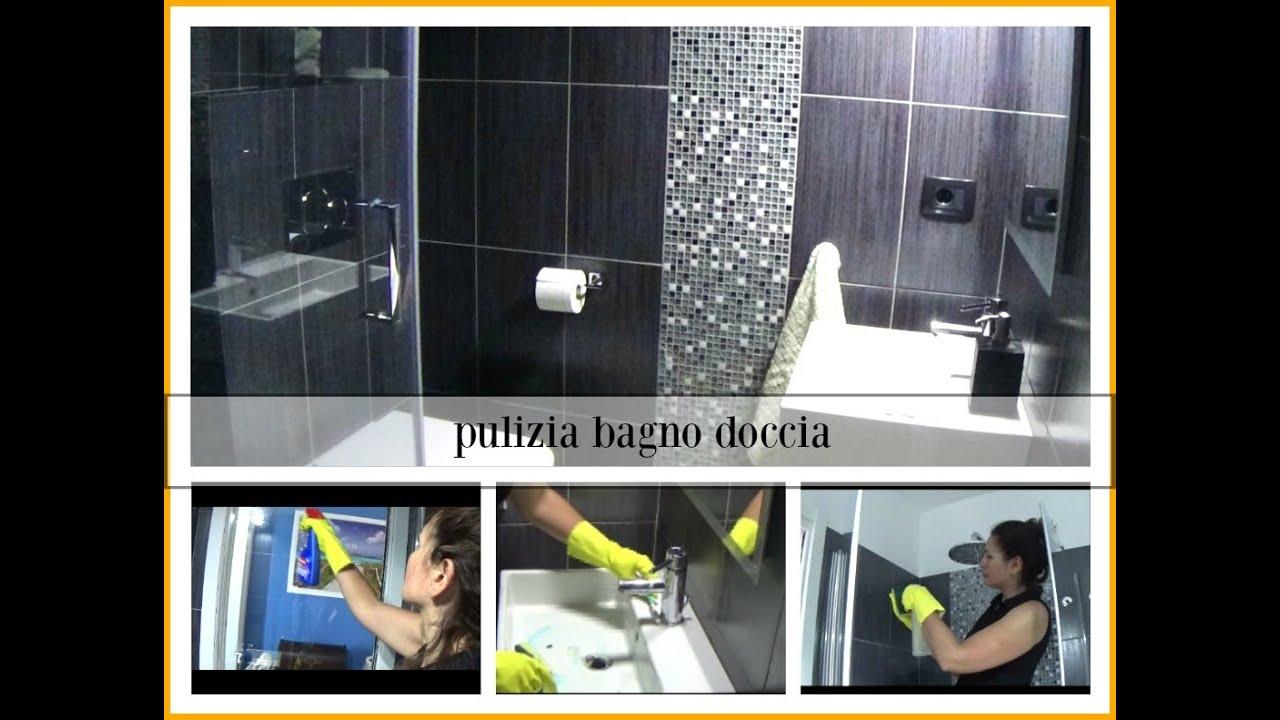 Pulizia bagno con box doccia youtube