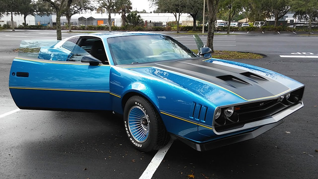 Man Builds His Dream Muscle Car With LT1 Engine Out Of His