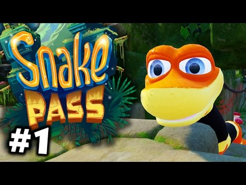 Snake Pass Part 1 - Sneaky Snake! (nintendo Switch Gameplay)