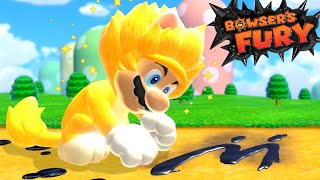 What Happens When You ONLY Play as Giga Cat Mario in Bowser's Fury?