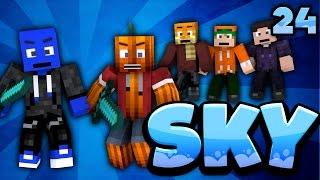 VERTEIDIGUNG FÜR PALDADOBEY! - Minecraft SKY #24 | DieBuddiesZocken