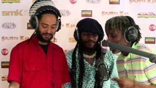 TIWONY STRAIKA FEFE  Freestyle @ Selecta Kza Reggae Radio Show 2014