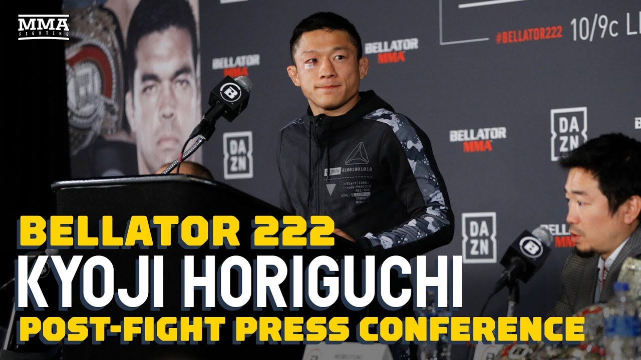 Bellator 222: Kyoji Horiguchi Post-Fight Press Conference - MMA Fighting