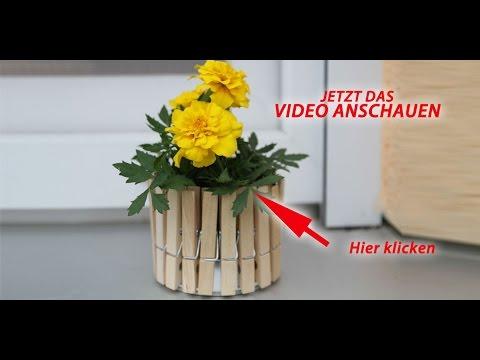deko vase selber machen youtube. Black Bedroom Furniture Sets. Home Design Ideas