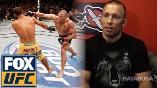 Georges St-Pierre talks about his UFC return | @TheBuzzer| UFC ON FOX